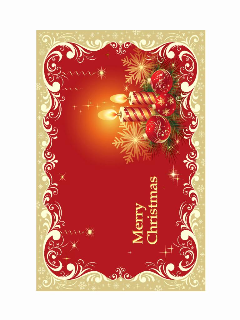 Printable Greeting Card Templates Beautiful 2019 Christmas Card Template Fillable Printable Pdf