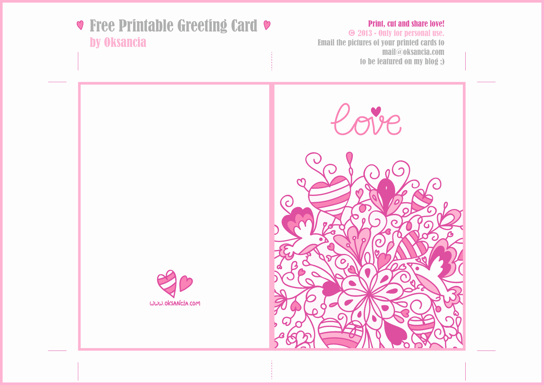Printable Greeting Card Templates Elegant 8 Best Of Printable Gift Cards Printable Teacher