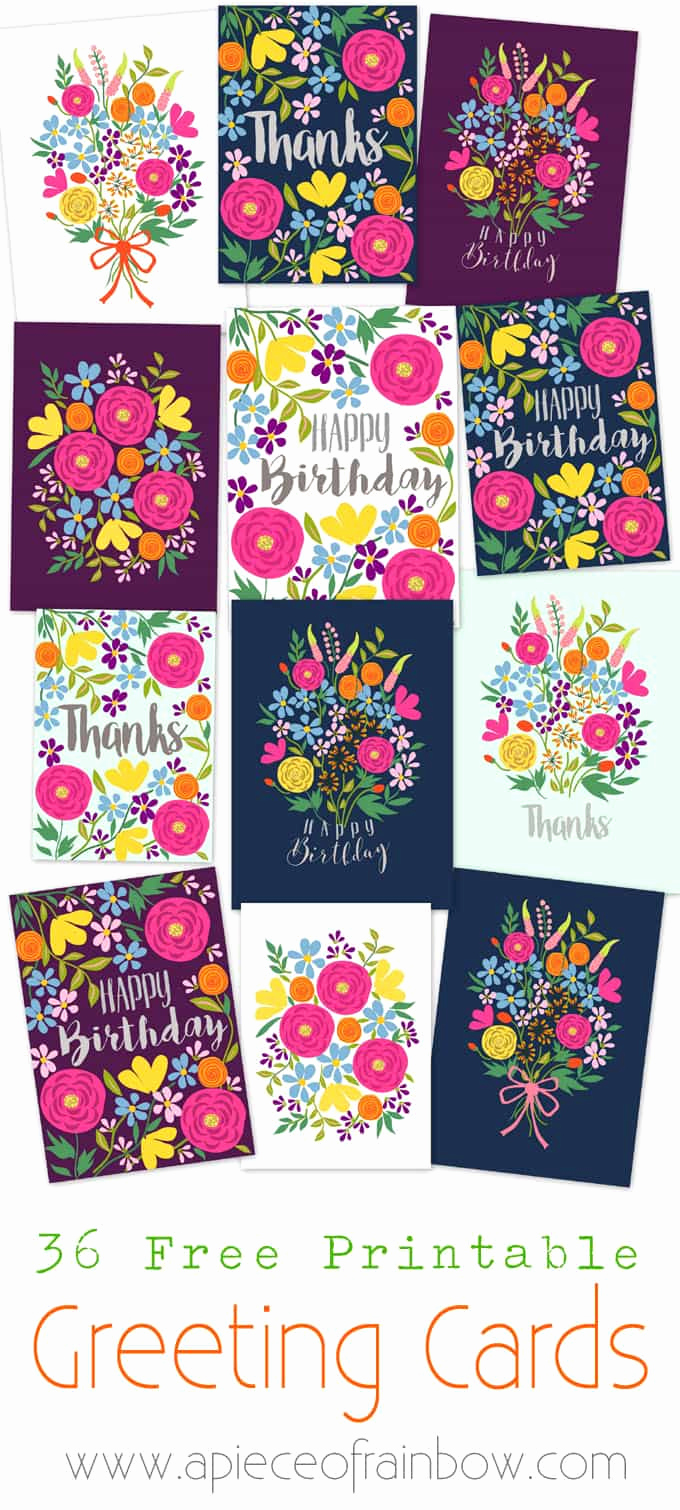 Printable Greeting Card Templates Inspirational Free Printable Happy Birthday Card with Pop Up Bouquet A