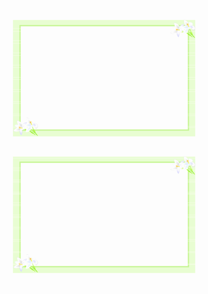 Printable Greeting Card Templates Lovely Card Templates