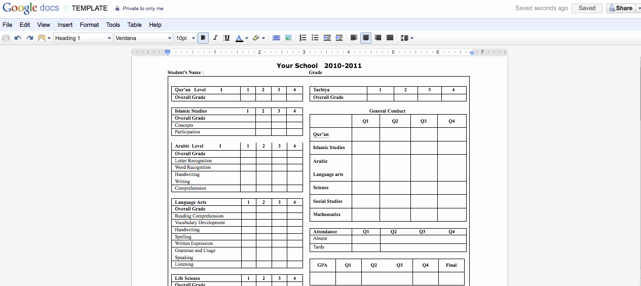 Printable Report Card Template Inspirational 301 Moved Permanently