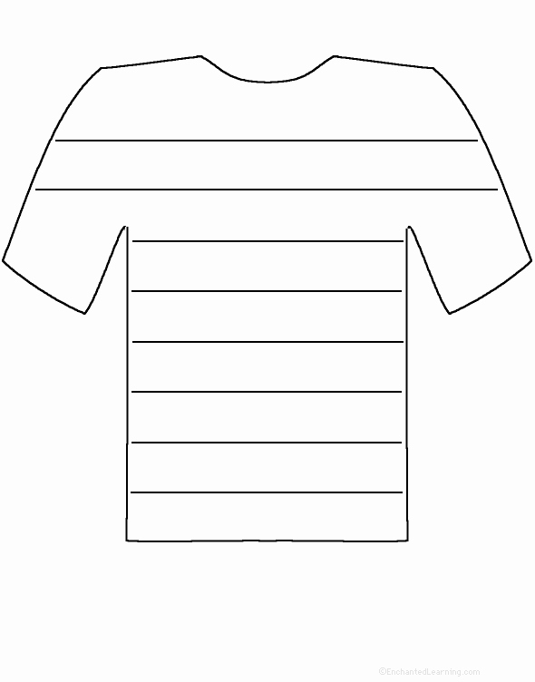 Printable T Shirt Templates Awesome Free T Shirt Template Printable Download Free Clip Art