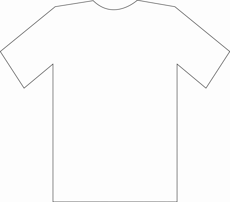 Printable T Shirt Templates Beautiful Free T Shirt Template Printable Download Free Clip Art