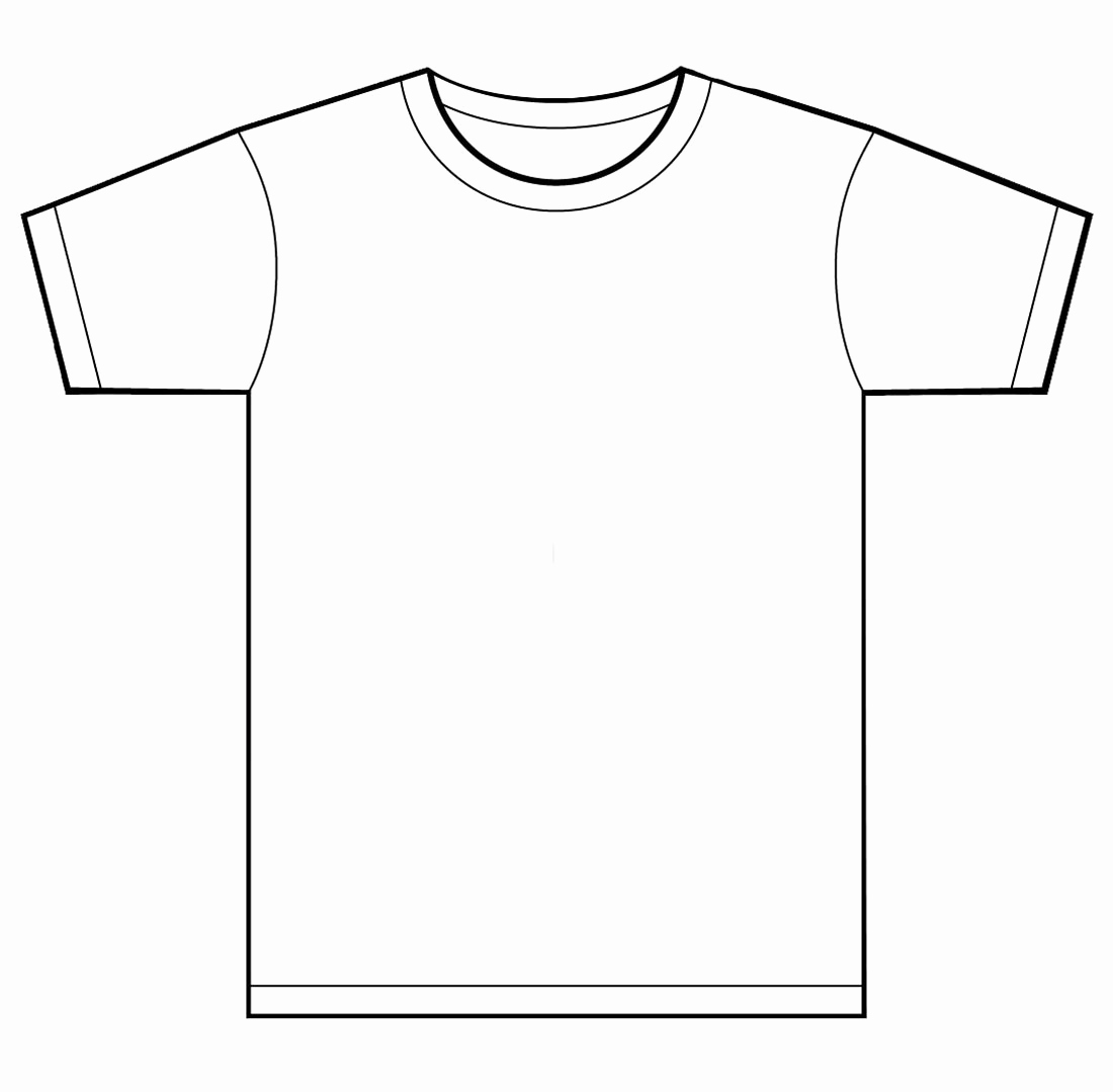 Printable T Shirt Templates Best Of Blank T Shirt Template