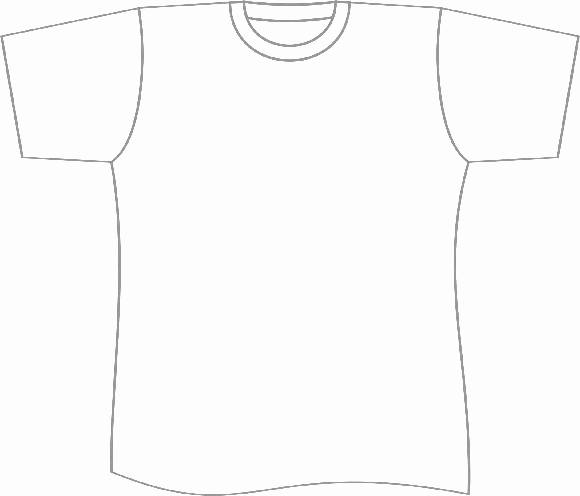 Printable T Shirt Templates Best Of Free T Shirt Template Printable Download Free Clip Art