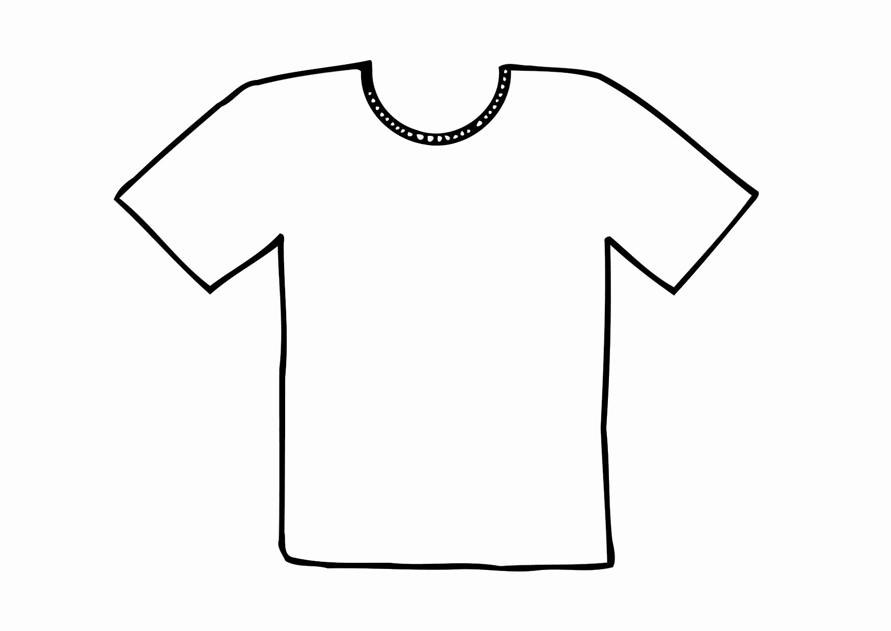 Printable T Shirt Templates Elegant Printable Tshirt Template Printable 360 Degree