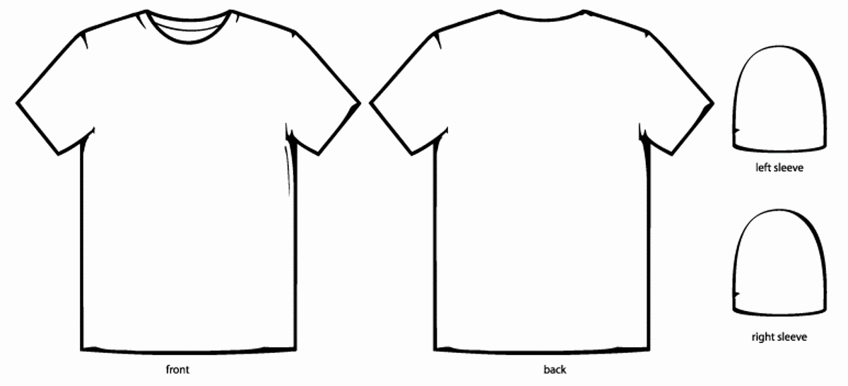 Printable T Shirt Templates Elegant Tee Shirt Template Beautiful Template Design Ideas