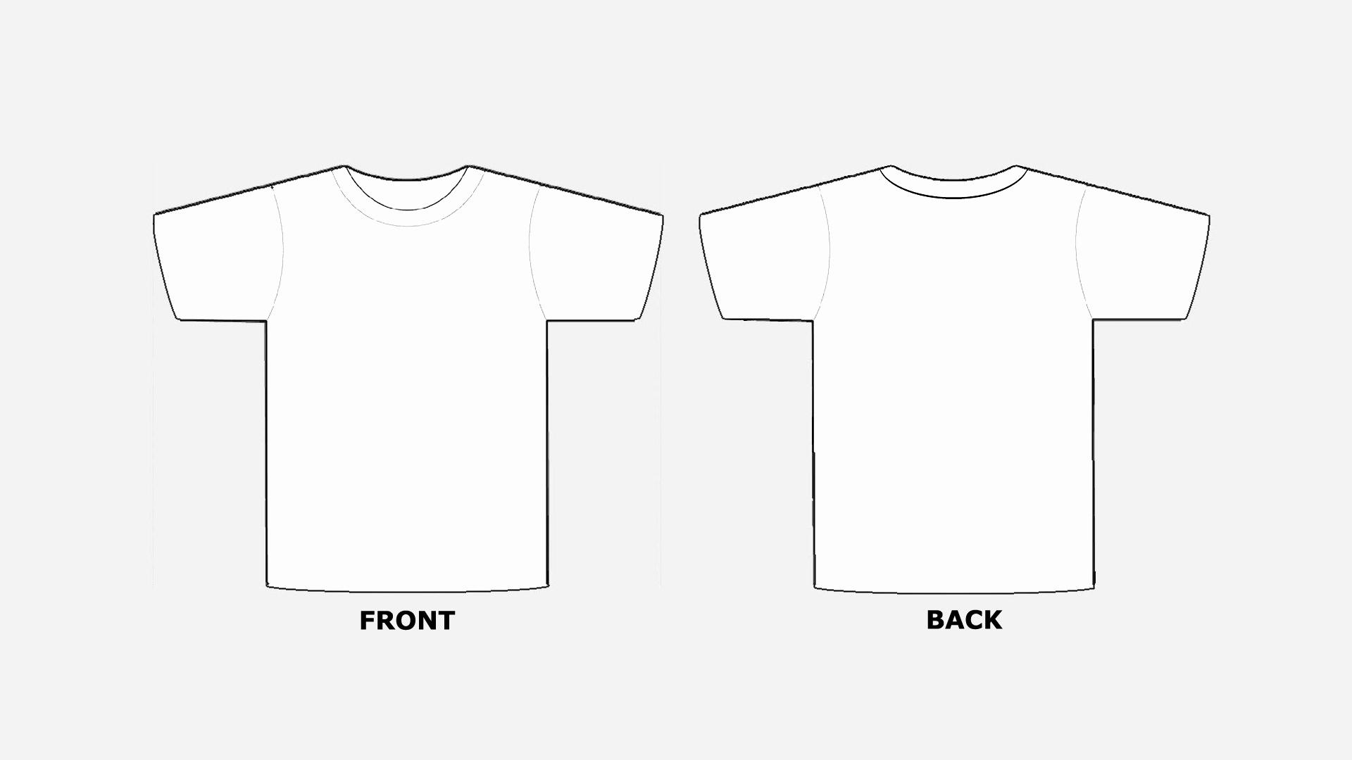 Printable T Shirt Templates Inspirational Blank Tshirt Template Printable In Hd Hd Wallpapers
