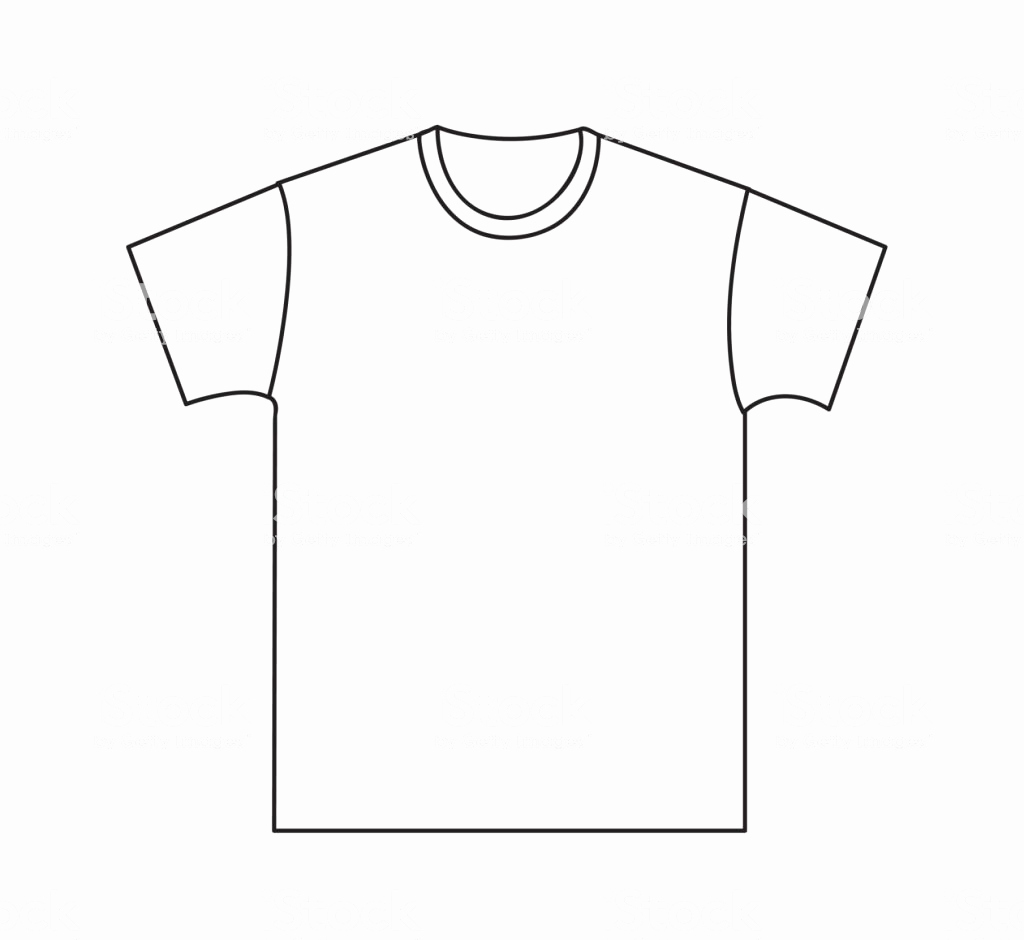 Printable T Shirt Templates Inspirational Blank Tshirt Template Stock Vector Art & More Of
