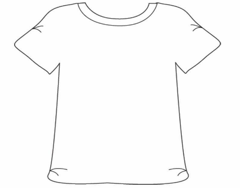 Printable T Shirt Templates Inspirational Free T Shirt Template Printable Download Free Clip Art