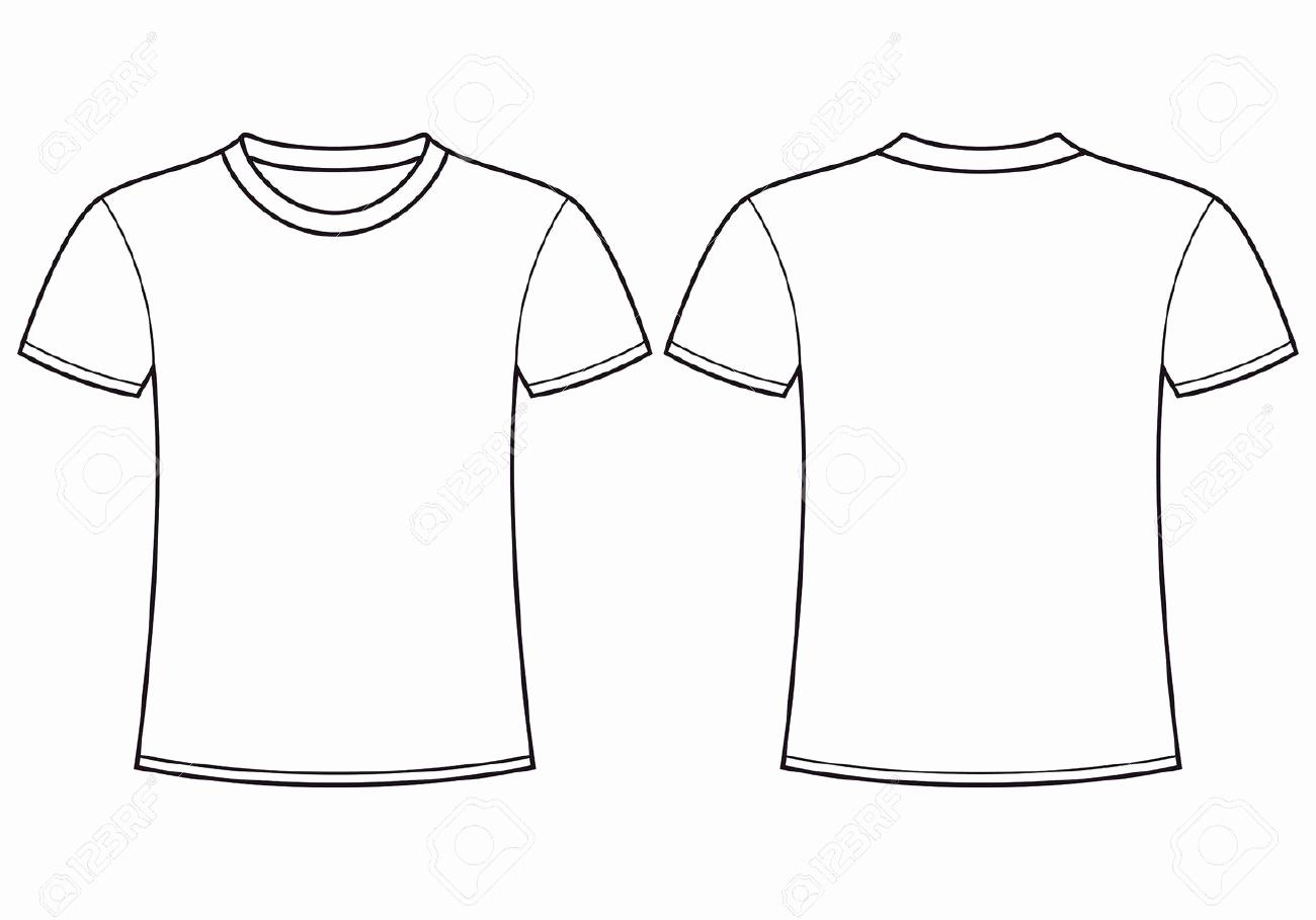 Printable T Shirt Templates Inspirational T Shirt Template