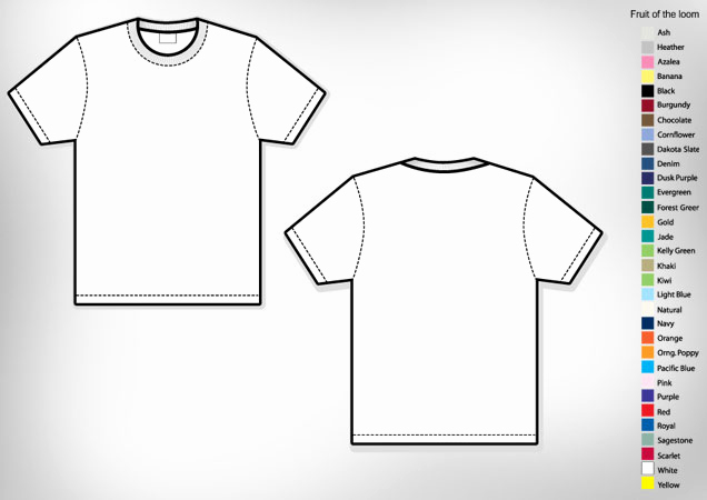 Printable T Shirt Templates Lovely Men's Basic T Shirt Template
