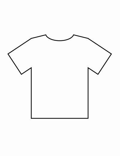 Printable T Shirt Templates Luxury Blank Tshirt Template Beepmunk