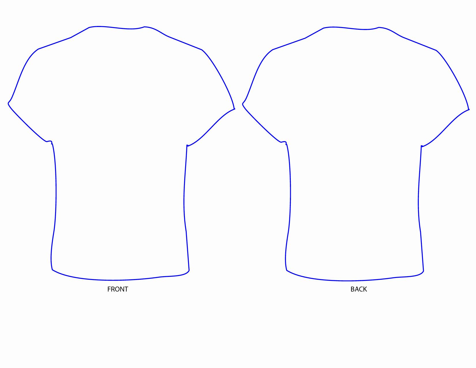 Printable T Shirt Templates Luxury Free T Shirt Template Printable Download Free Clip Art