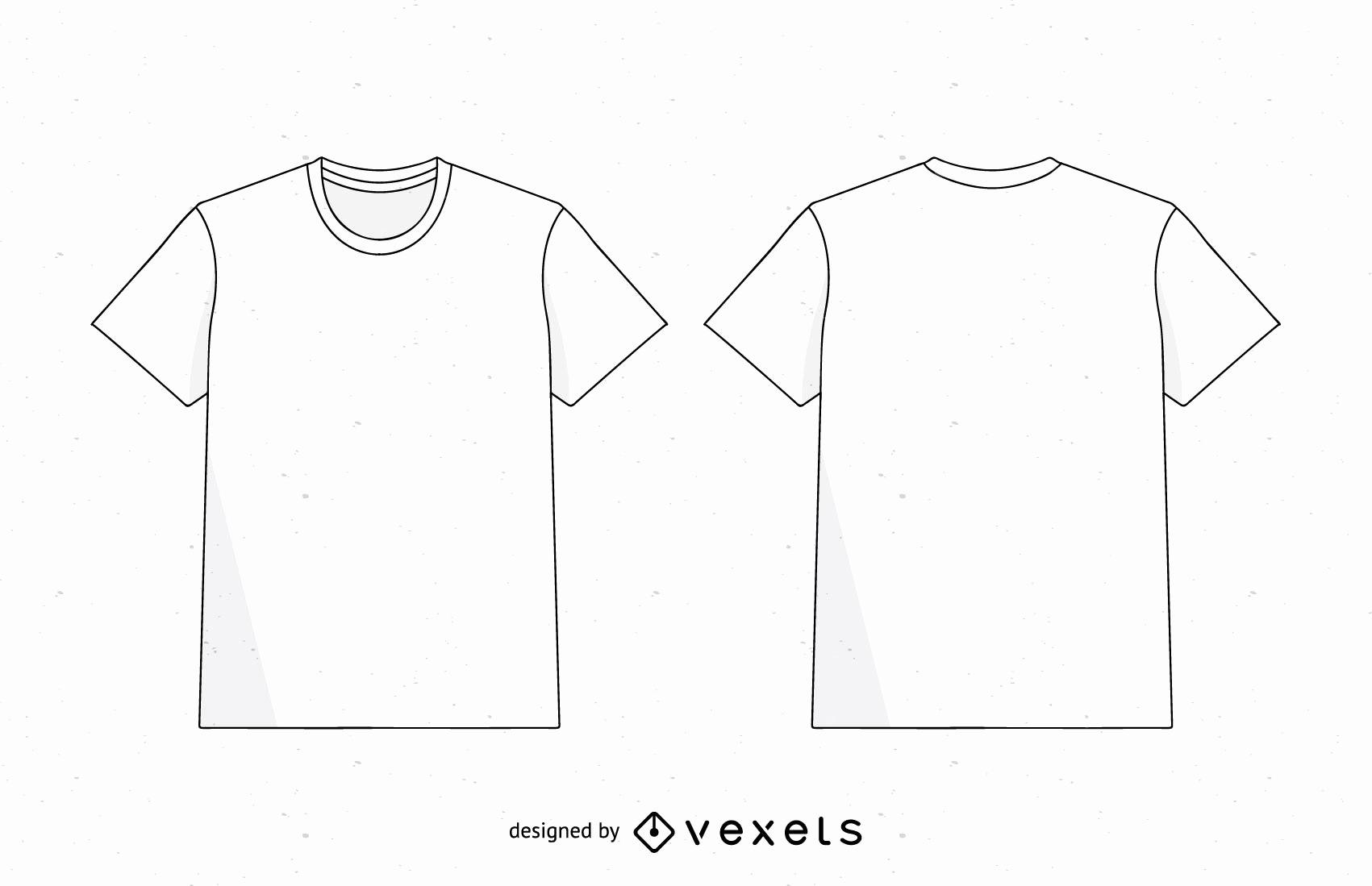Printable T Shirt Templates Luxury Men T Shirt Template Vector Vector