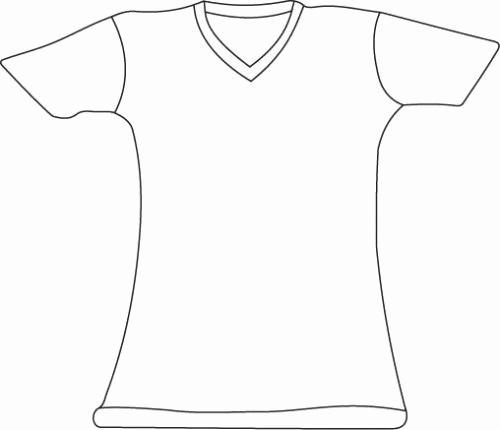 Printable T Shirt Templates New Blank Tshirt Template Printable Blank T Shirt Template T