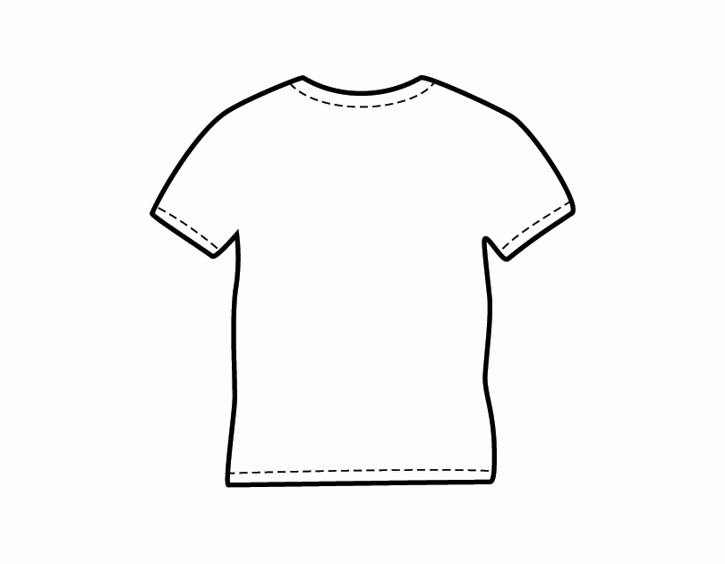 Printable T Shirt Templates New Free T Shirt Outline Template Download Free Clip Art