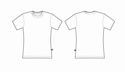 Printable T Shirt Templates New Free T Shirt Template Printable Download Free Clip Art