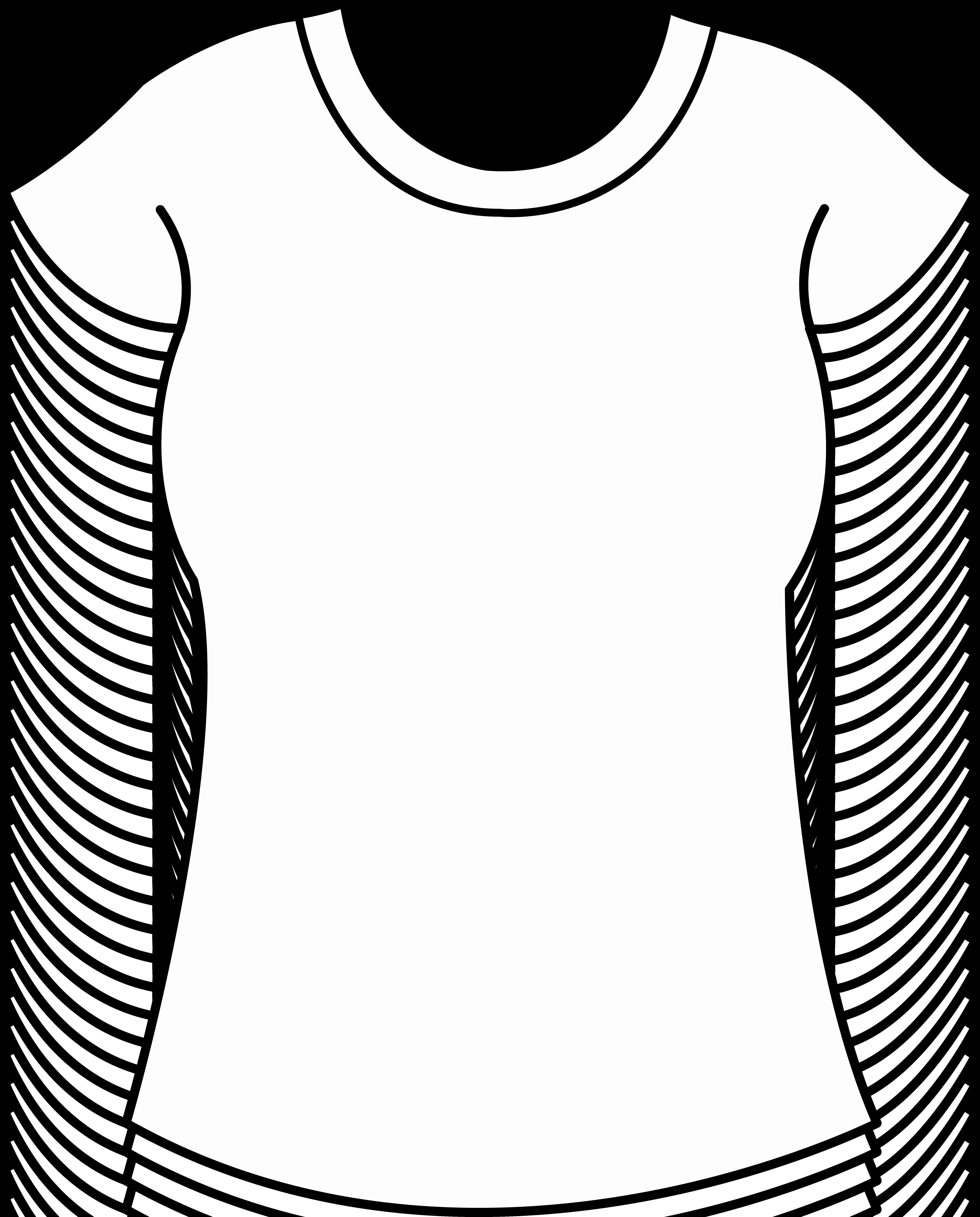 Printable T Shirt Templates New Printable Clothes Templates