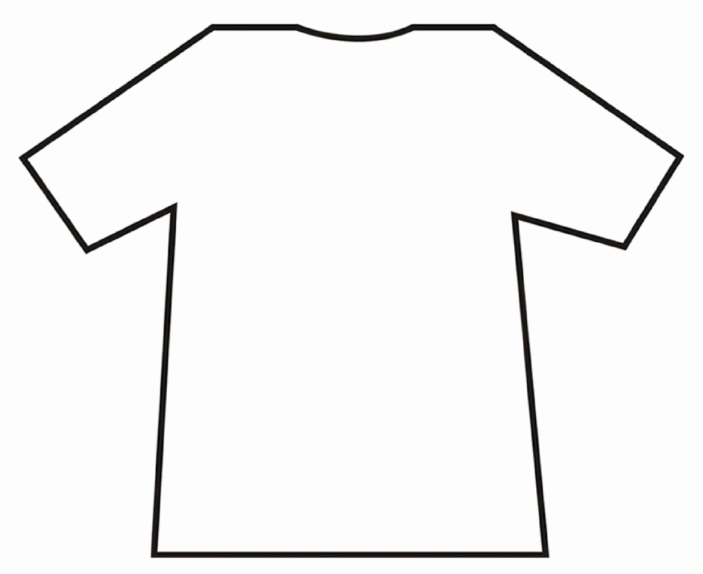 Printable T Shirt Templates New T Shirt Template