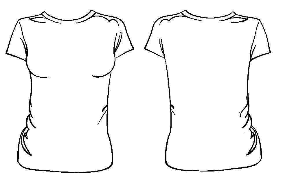 Printable T Shirt Templates Unique Womens T Shirt Design Template T Shirt Design Template