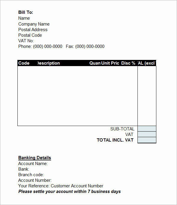 Pro forma Invoice Template Lovely 15 Sample Proforma Invoice Template for Download