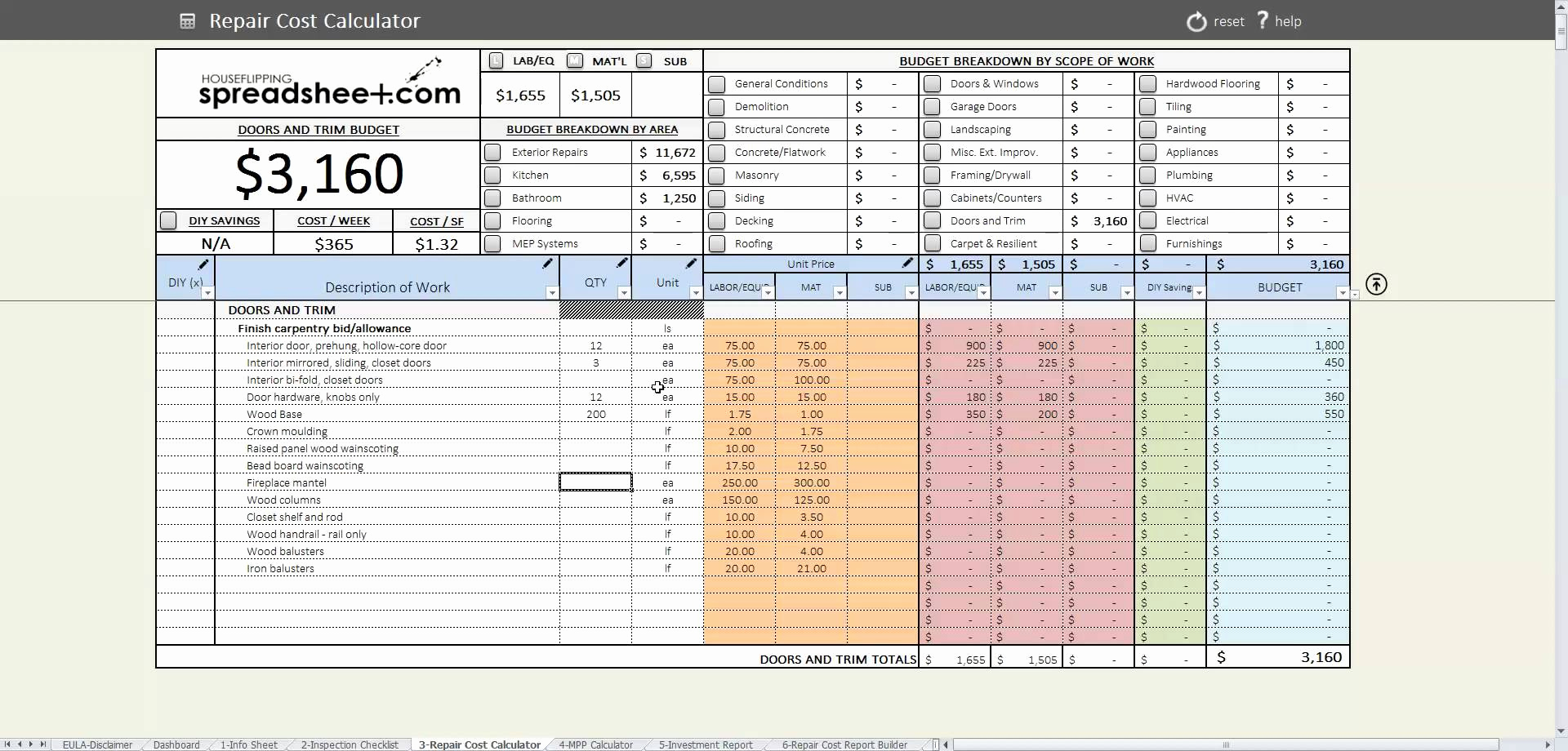 Probate Accounting Template Excel Lovely Probate Accounting Spreadsheet