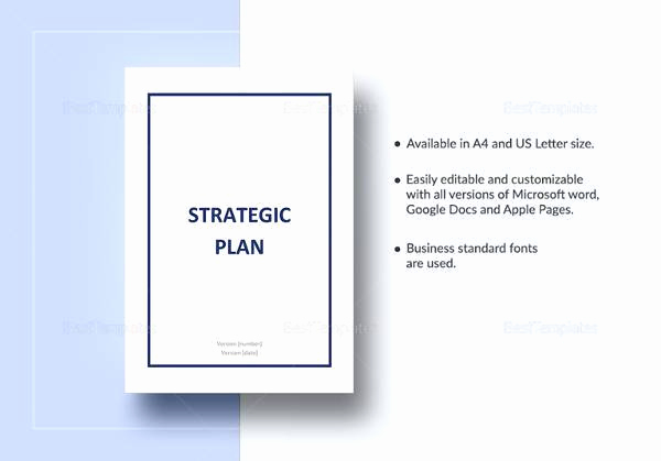 Strategic Planning Template Word Awesome 17 Strategic Plan Templates Pdf Word