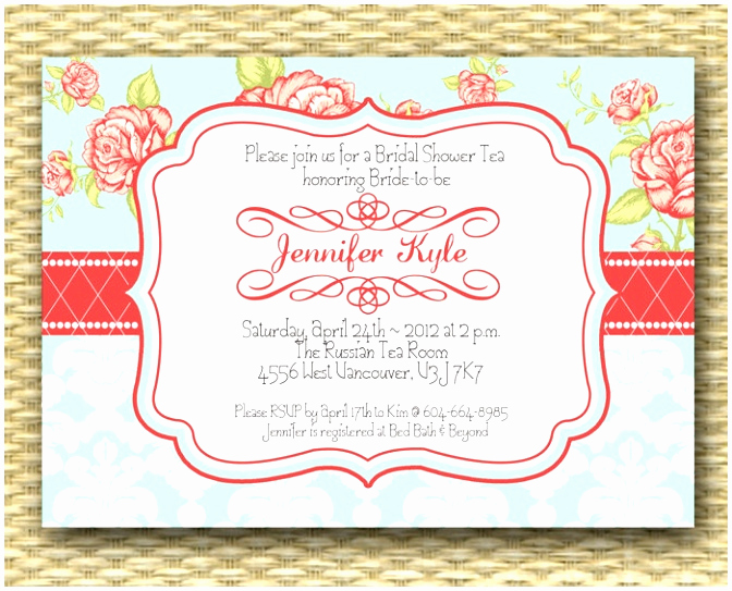 Tea Party Invitation Template Word Elegant 7 Vintage Party Invitation Templates Oewpi