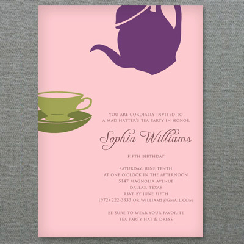 Tea Party Invitation Template Word Inspirational Word Tea Party Invitation Template – orderecigsjuicefo