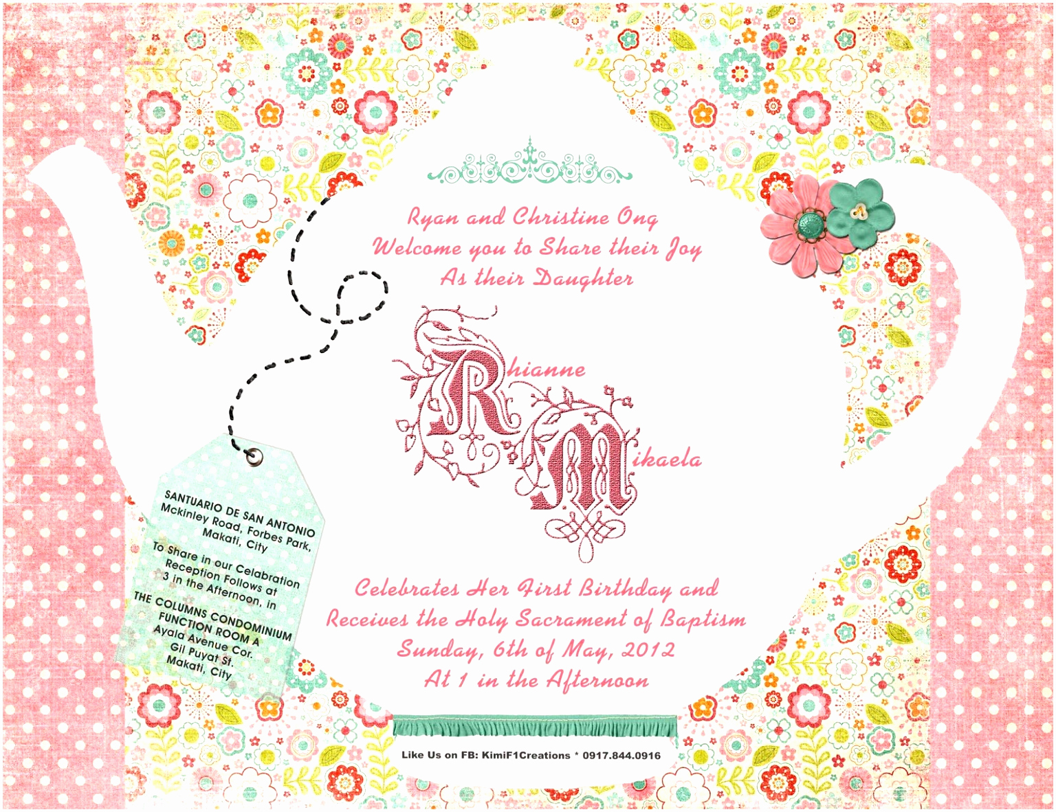 Tea Party Invitation Template Word Lovely 7 Vintage Party Invitation Templates Oewpi