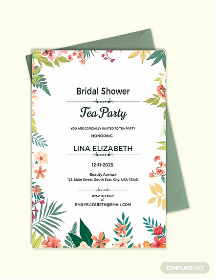 Tea Party Invitation Template Word Luxury Free Garden Party Invitation Template Download 344