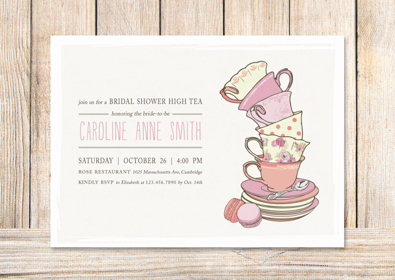 Tea Party Invitation Template Word Unique Kids Tea Party Invitation Template – orderecigsjuicefo