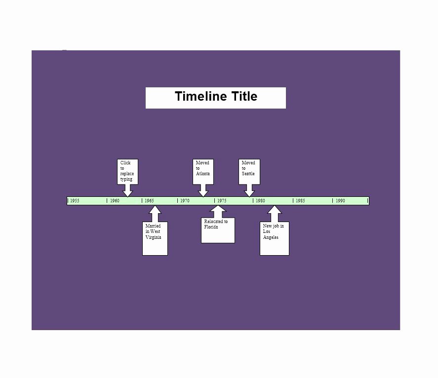 Timeline Templates for Word Awesome 30 Timeline Templates Excel Power Point Word