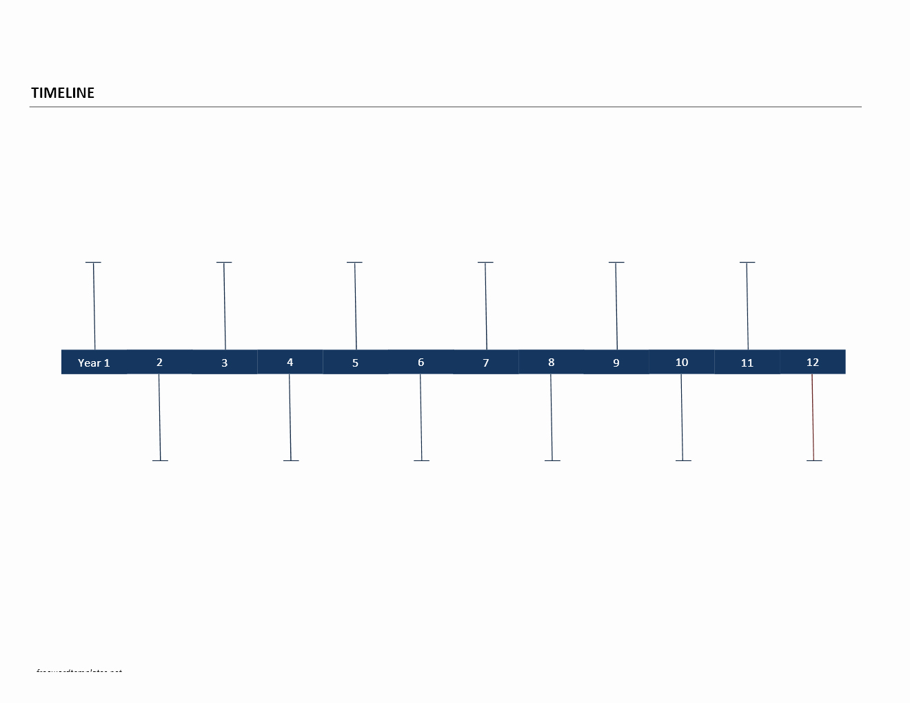 Timeline Templates for Word Awesome Timeline Template