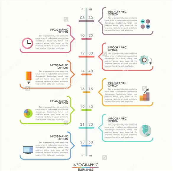 Timeline Templates for Word Elegant 47 Blank Timeline Templates Psd Doc Pdf