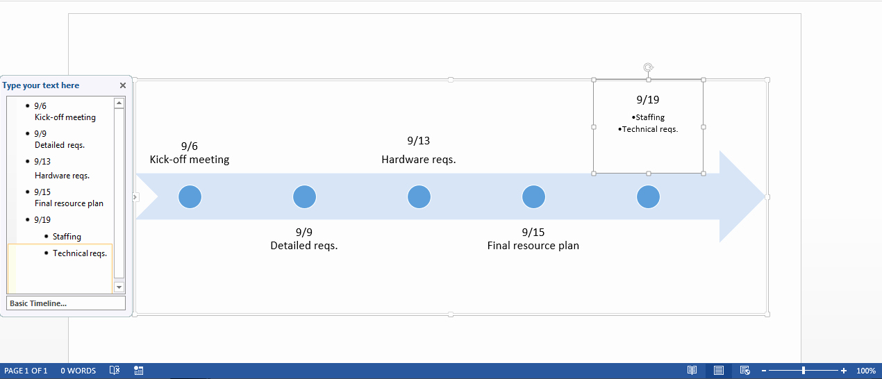 Timeline Templates for Word Elegant Free Timeline Template In Word