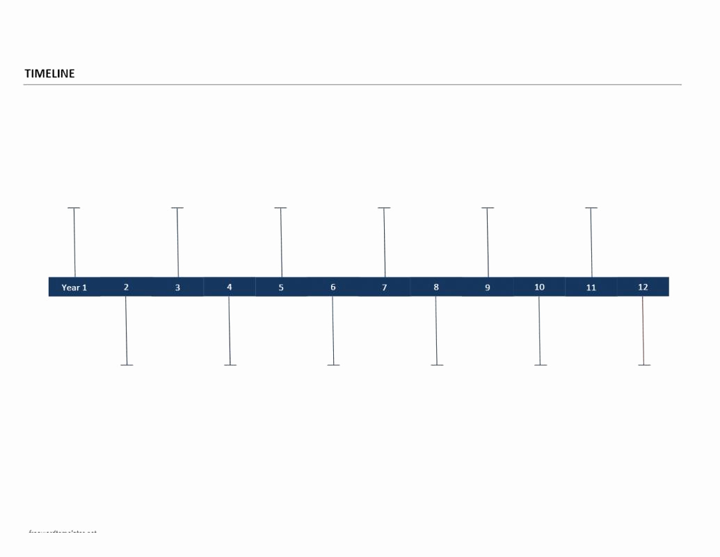 Timeline Templates for Word Lovely Timeline Template Word