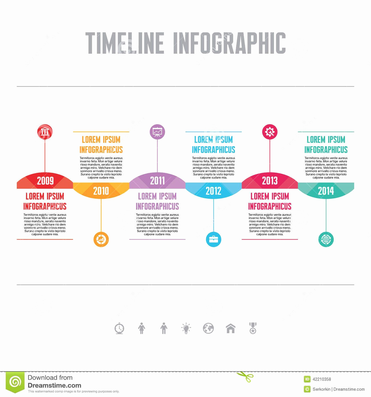 Timeline Templates for Word Unique Timeline Infographic Template Google Search
