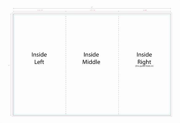 Tri Fold Table Tent Template Beautiful Tri Fold Table Tent Template – Hazstyle