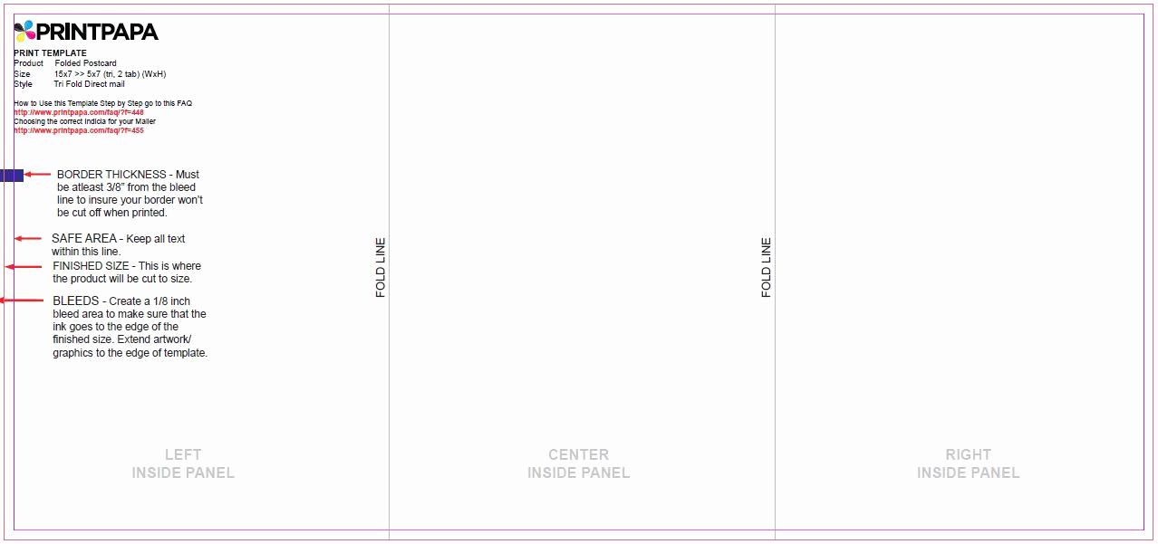 Tri Fold Table Tent Template Elegant Tri Fold Table Tent Template & Embossed Tent Cards 3