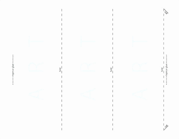 Tri Fold Table Tent Template Inspirational How to Make A Table Tent In Publisher