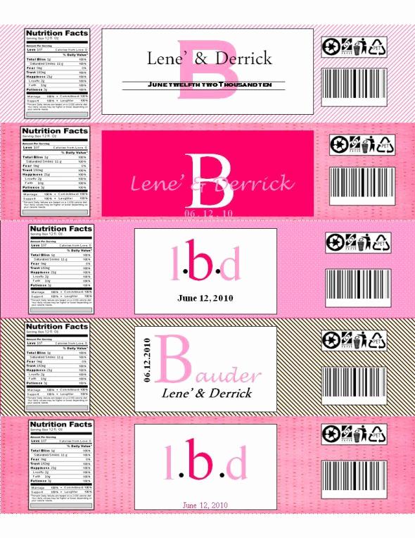 Water Bottle Labels Free Template Beautiful 9 Best Of Free Printable Bottle Labels Template