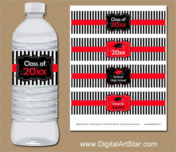 Water Bottle Labels Free Template Elegant Water Bottle Label Template – 29 Free Psd Eps Ai