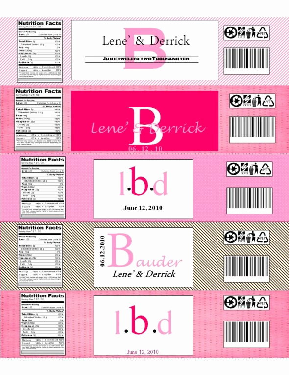 Water Bottle Labels Free Template New 9 Best Of Free Printable Bottle Labels Template