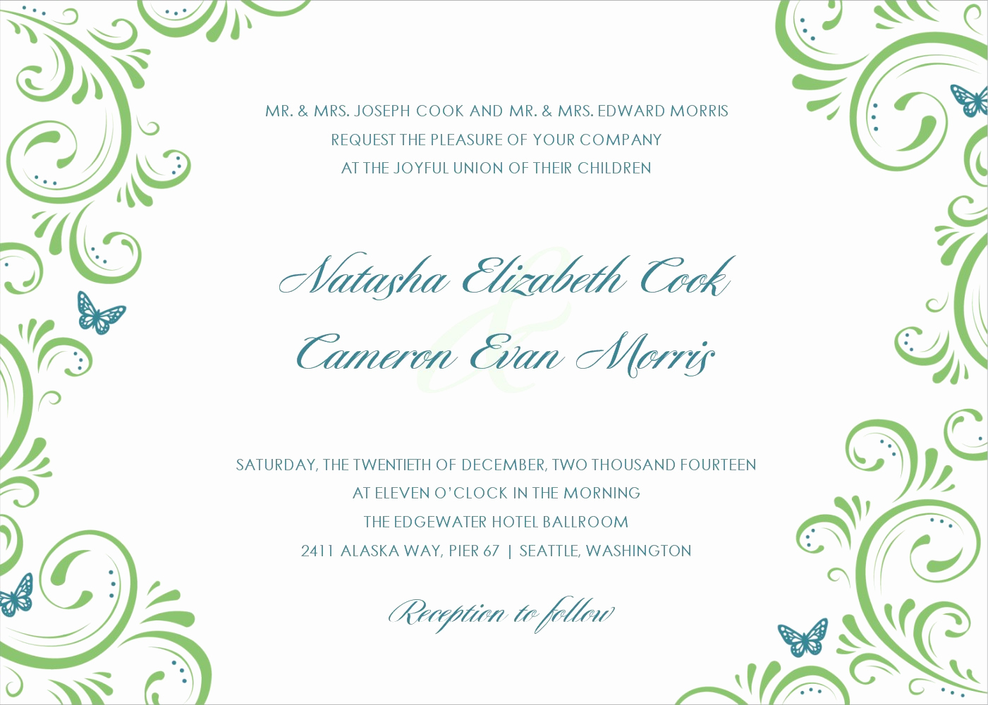 Wedding Invitation Design Templates Awesome Applying the Wedding Planning Templates