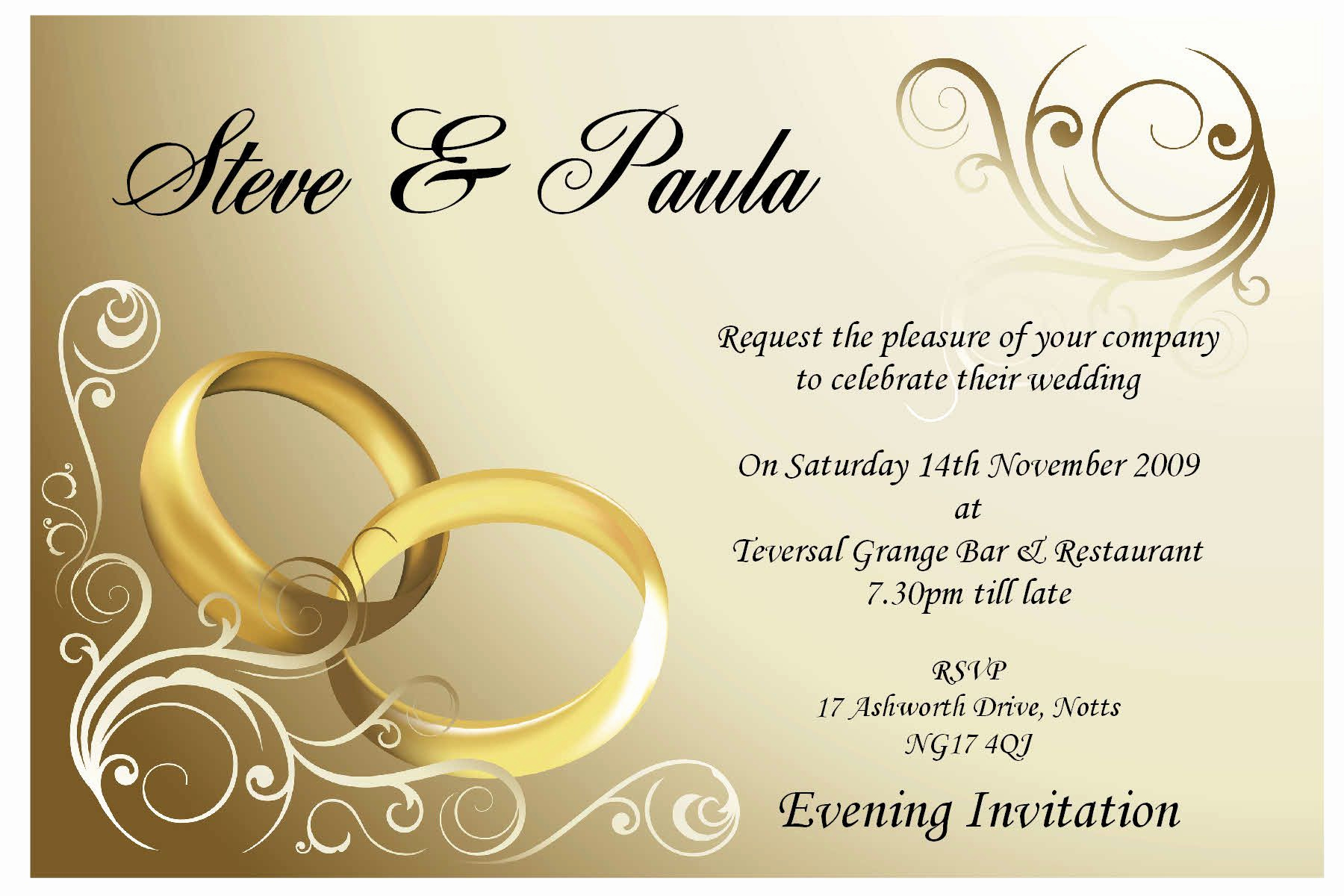 Wedding Invitation Design Templates Awesome Wedding Invitation Card Design Weddingcards
