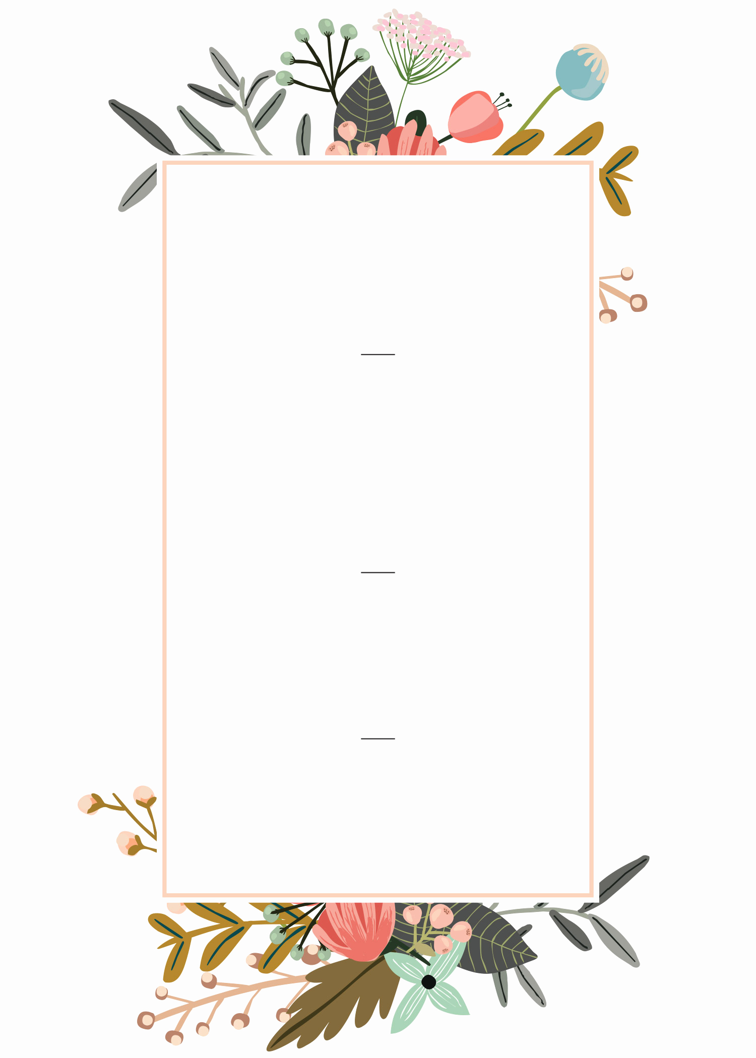 Wedding Invitation Design Templates Elegant Editable Wedding Invitation Templates for the Perfect Card