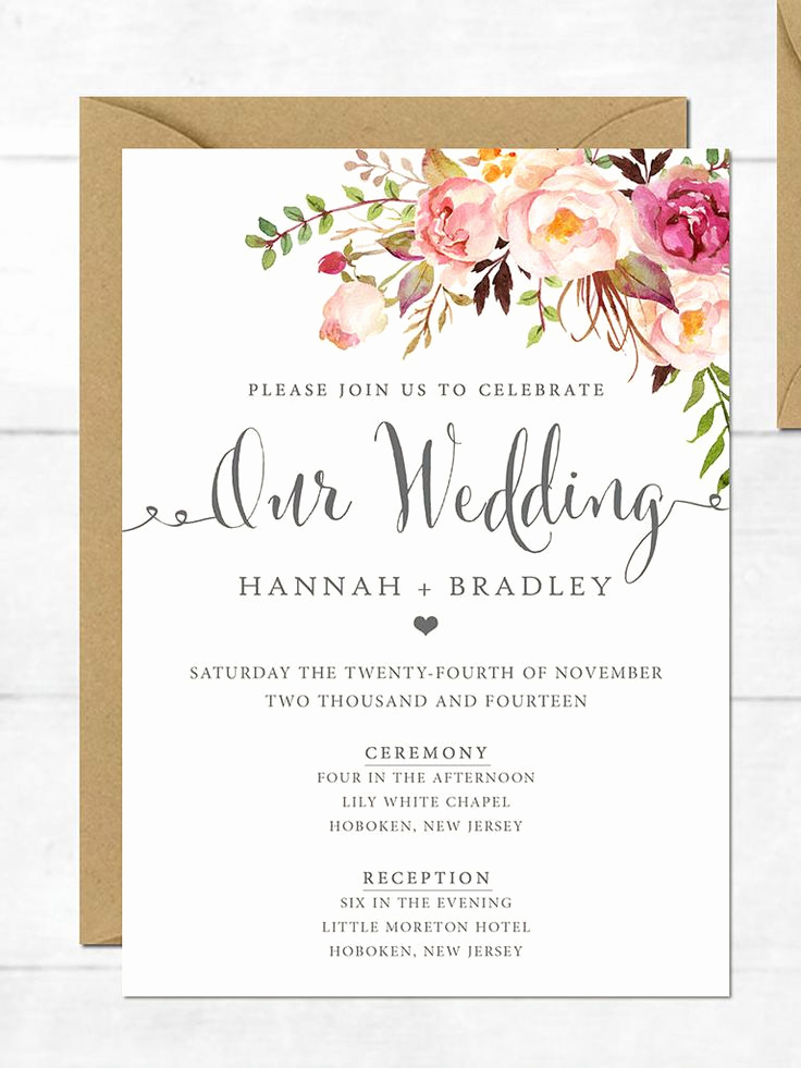 Wedding Invitation Design Templates Fresh Best 25 Wedding Invitations Ideas On Pinterest