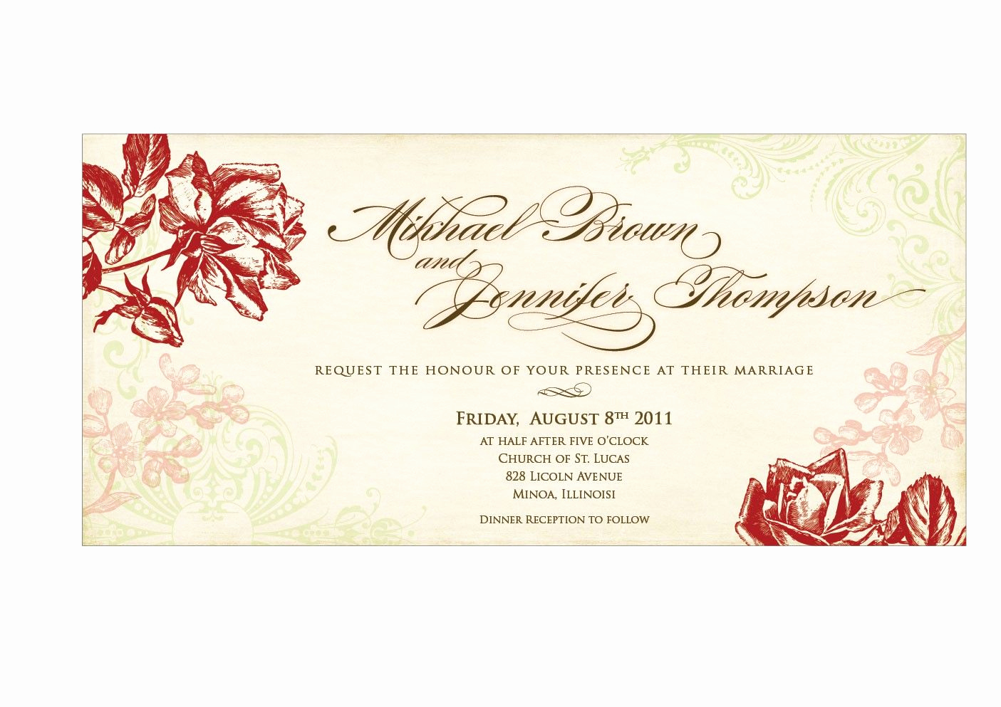 Wedding Invitation Design Templates Inspirational Wedding Invitation Templates